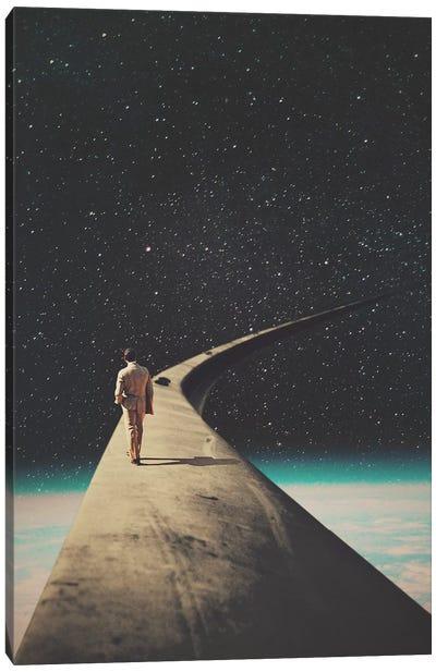 We Chose this Road my Dear Canvas Art Print