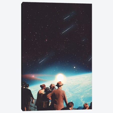 We Have Been Promised the Eternity Canvas Print #FRM51} by Frank Moth Canvas Art Print