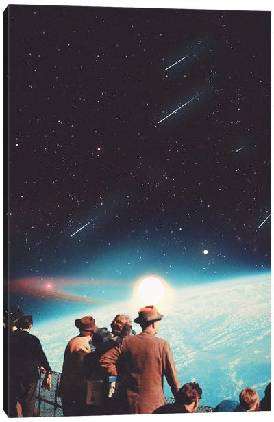 We Have Been Promised the Eternity Canvas Art Print