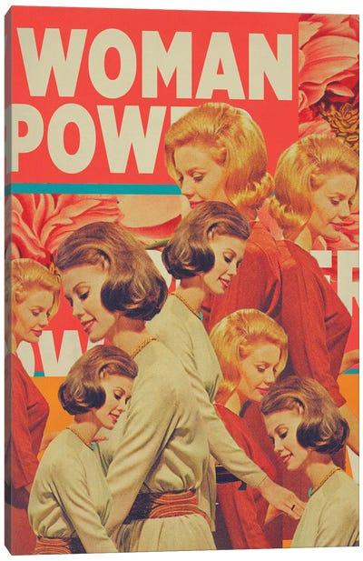 Woman Power Canvas Art Print