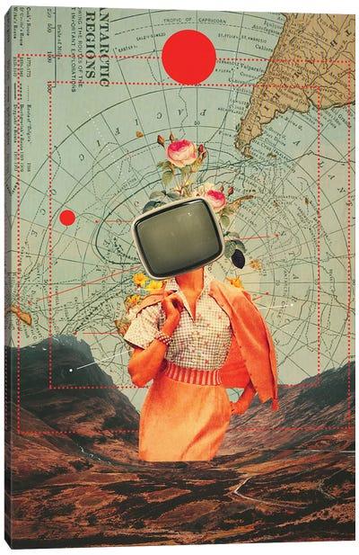 Antarctic Broadcast Canvas Art Print