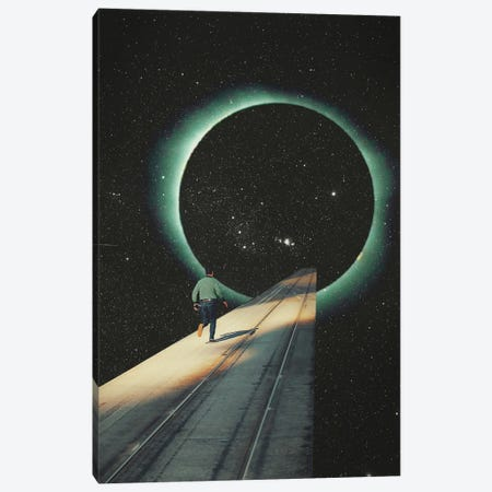 Escaping Into The Void Canvas Print #FRM59} by Frank Moth Art Print