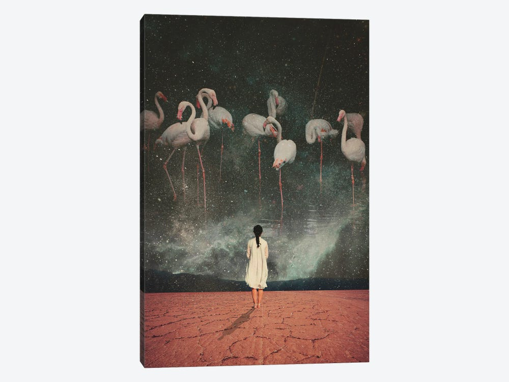 Hanging On A Dream by Frank Moth 1-piece Canvas Print