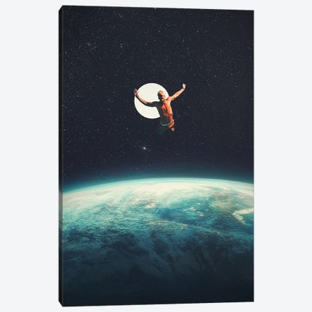 Returning To Earth With A Will To Change Canvas Print #FRM61} by Frank Moth Canvas Art