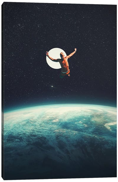 Returning To Earth With A Will To Change Canvas Art Print