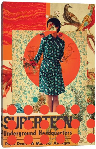 Superteen Canvas Art Print
