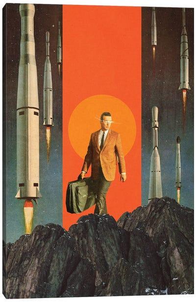 The Departure Canvas Art Print