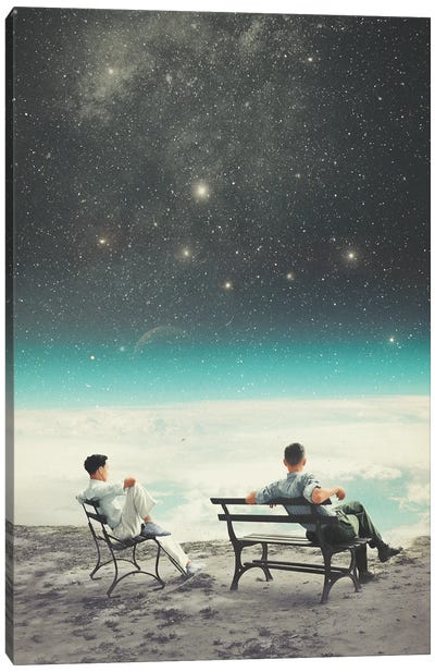 You Were There In My Deepest Silence Canvas Art Print