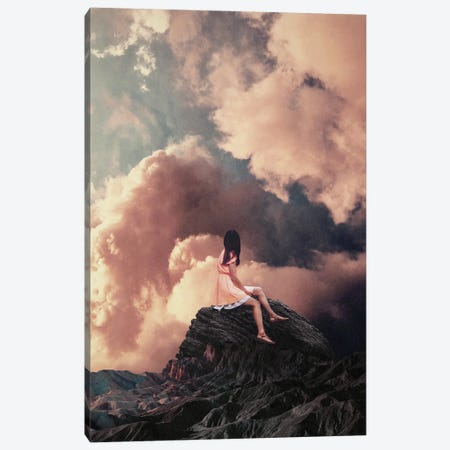 You Came From The Clouds By Frank Moth Canvas Print #FRM70} by Frank Moth Canvas Print