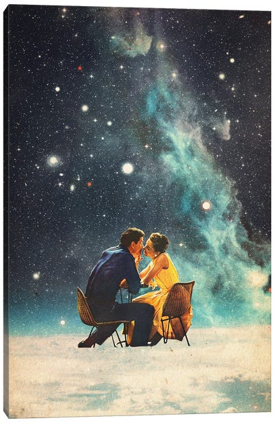 I'll Take you to the Stars for a Second Date Canvas Art Print