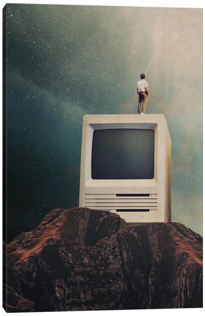 We are going to Escape Canvas Art Print