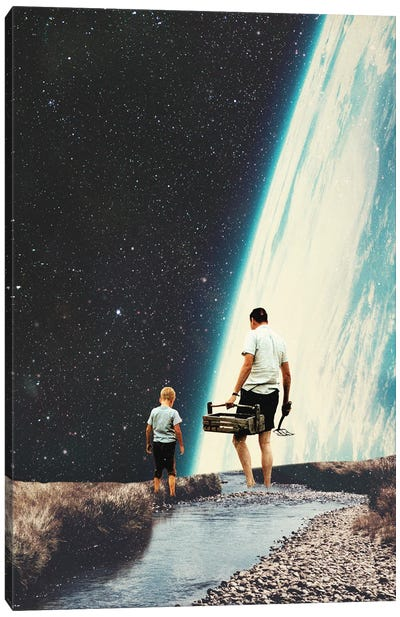 We Will Always Come Back Here Canvas Art Print