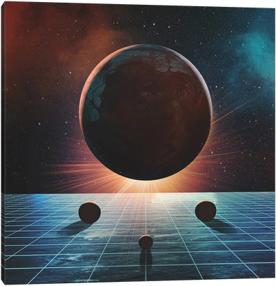 Gravity Canvas Art Print
