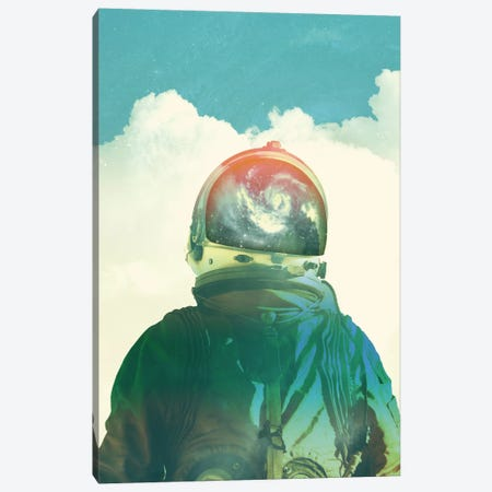 God Is An Astronaut Canvas Print #FRO14} by Fran Rodriguez Canvas Artwork