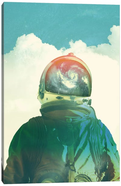 God Is An Astronaut Canvas Print #FRO14