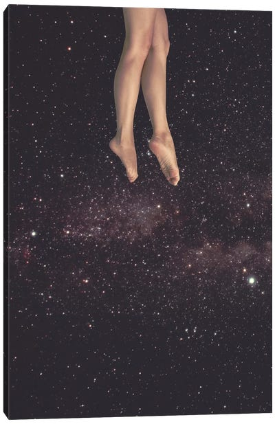 Hanging In Space Canvas Art Print