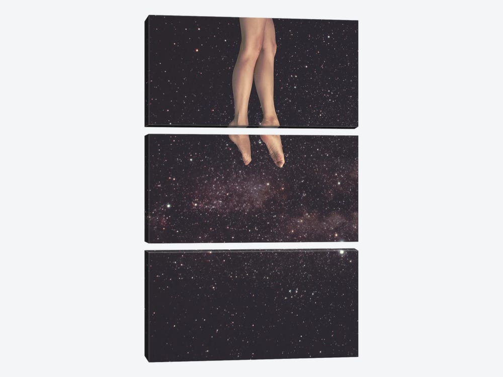 Hanging In Space by Fran Rodriguez 3-piece Canvas Wall Art