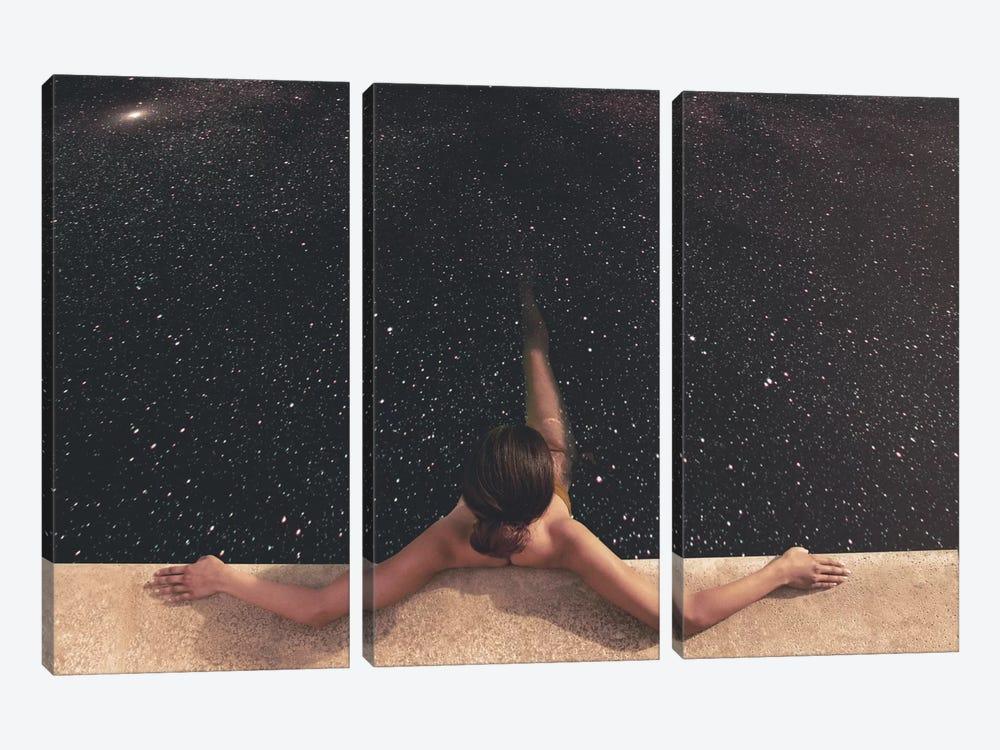 Holynight by Fran Rodriguez 3-piece Canvas Print