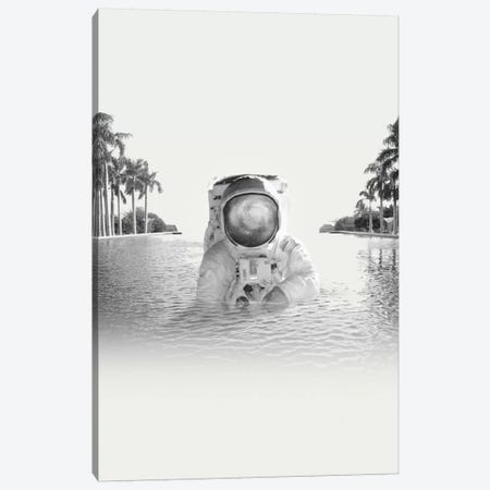 Astronaut 3-Piece Canvas #FRO1} by Fran Rodriguez Canvas Artwork