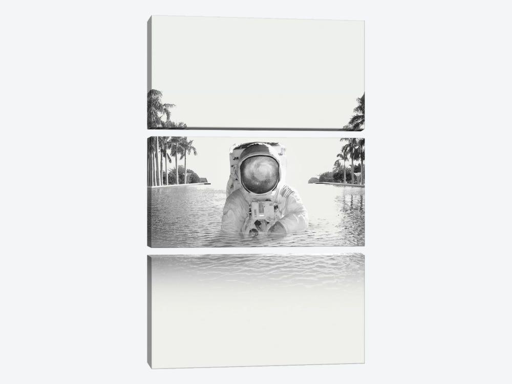 Astronaut by Fran Rodriguez 3-piece Art Print