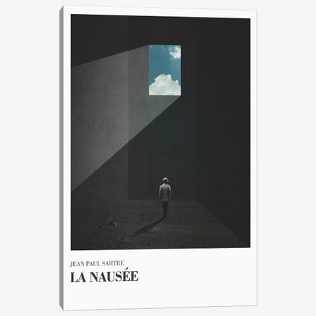 La Nausee Canvas Print #FRO20} by Fran Rodriguez Canvas Art