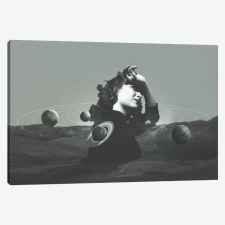 Orbits I Canvas Print #FRO25} by Fran Rodriguez Canvas Print