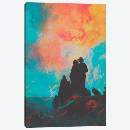 Pioneers Canvas Print #FRO27} by Fran Rodriguez Canvas Art Print