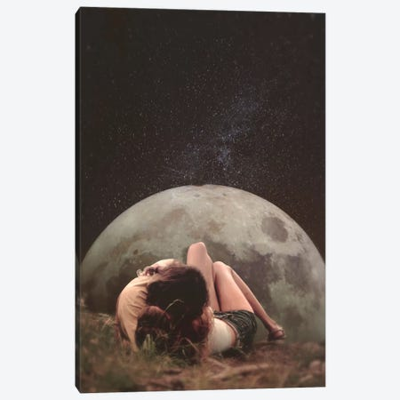 Cosmic Love Canvas Print #FRO2} by Fran Rodriguez Canvas Art