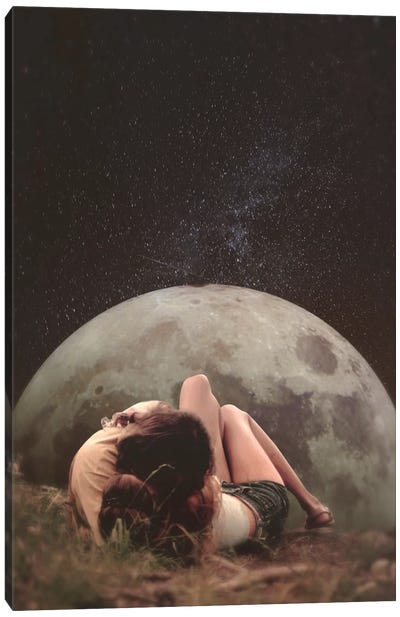 Cosmic Love Canvas Print #FRO2