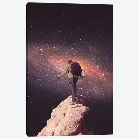 Space Tourist Canvas Print #FRO34} by Fran Rodriguez Canvas Art