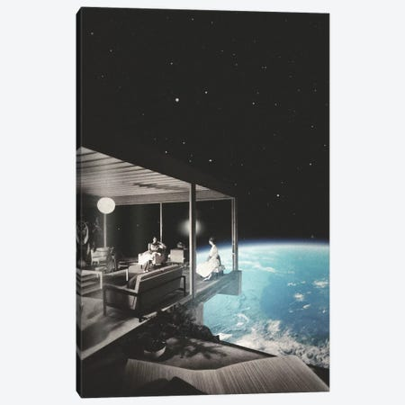 The View Canvas Print #FRO39} by Fran Rodriguez Canvas Art Print