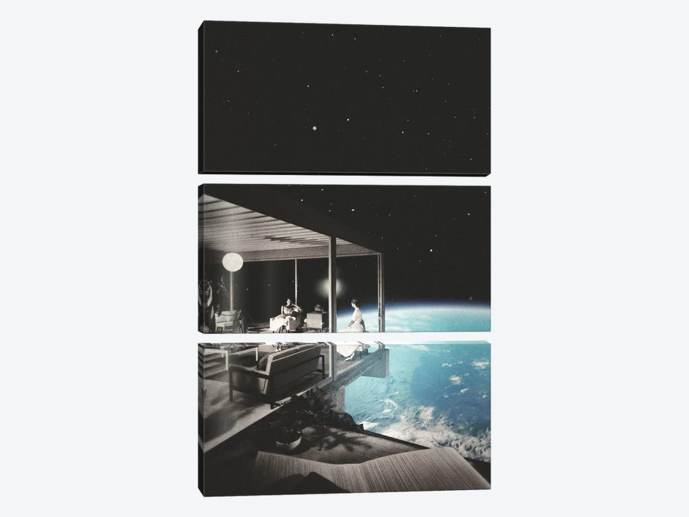 The View by Fran Rodriguez 3-piece Canvas Wall Art
