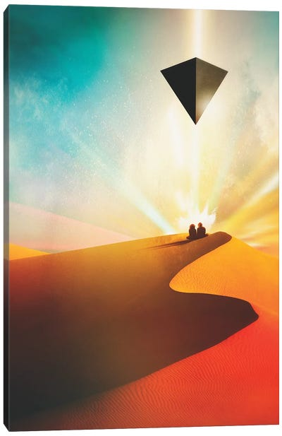 Dune Canvas Art Print