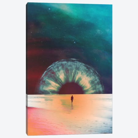 I Am Dawn Canvas Print #FRO45} by Fran Rodriguez Art Print
