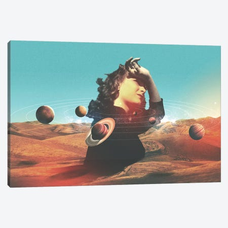 Orbits II Canvas Print #FRO47} by Fran Rodriguez Art Print