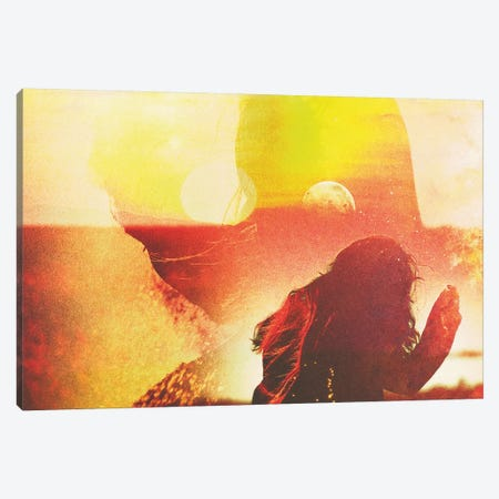 She Rise Canvas Print #FRO49} by Fran Rodriguez Canvas Wall Art