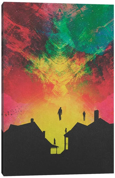 Abducted Canvas Art Print