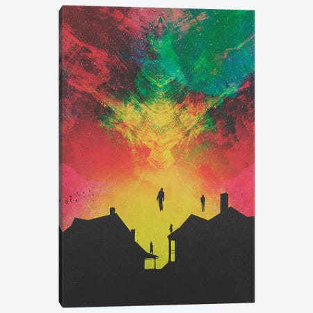 Abducted Canvas Print #FRO51} by Fran Rodriguez Art Print