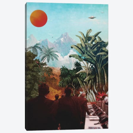 SETI Canvas Print #FRO54} by Fran Rodriguez Canvas Art