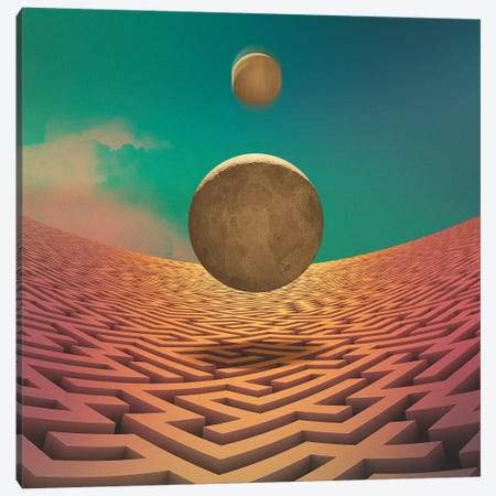Event Horizon 3-Piece Canvas #FRO55} by Fran Rodriguez Canvas Wall Art