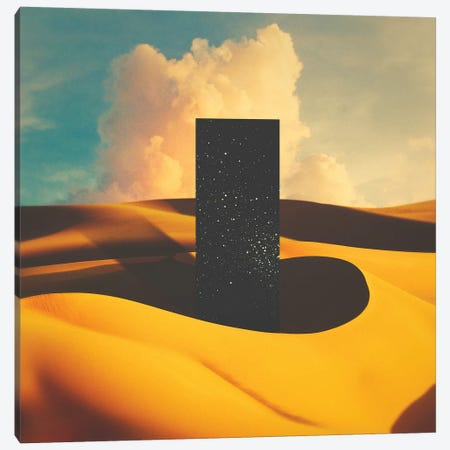 Monolith I 3-Piece Canvas #FRO58} by Fran Rodriguez Canvas Art Print