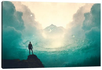 The Contemplation Canvas Art Print