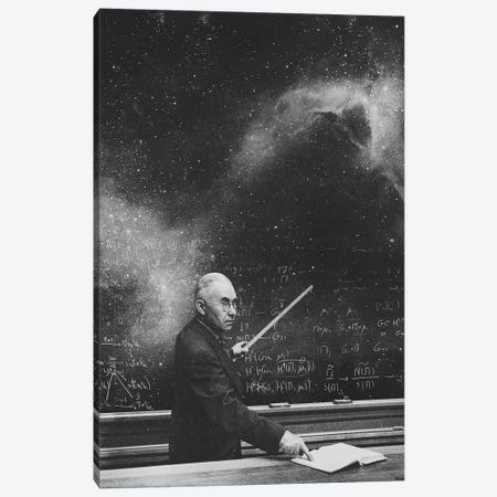 The Masterclass Canvas Print #FRO62} by Fran Rodriguez Canvas Art