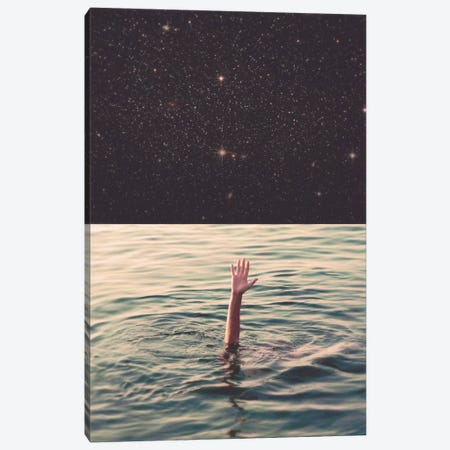 Drowned In Space Canvas Print #FRO6} by Fran Rodriguez Canvas Art Print