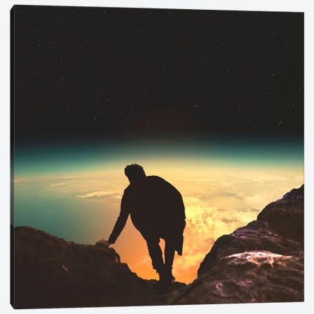 The Summit Canvas Print #FRO70} by Fran Rodriguez Canvas Art Print