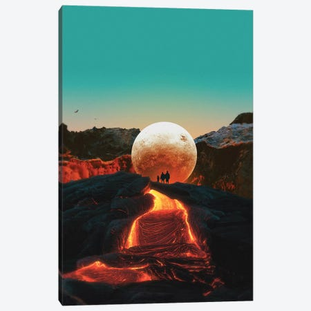 Lava Canvas Print #FRO71} by Fran Rodriguez Canvas Print