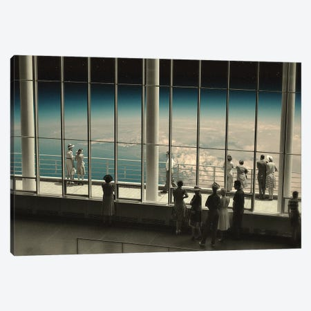 The View II 3-Piece Canvas #FRO76} by Fran Rodriguez Canvas Wall Art