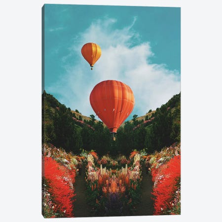 Hot Air Canvas Print #FRO83} by Fran Rodriguez Canvas Wall Art