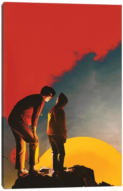 Down There Canvas Art Print