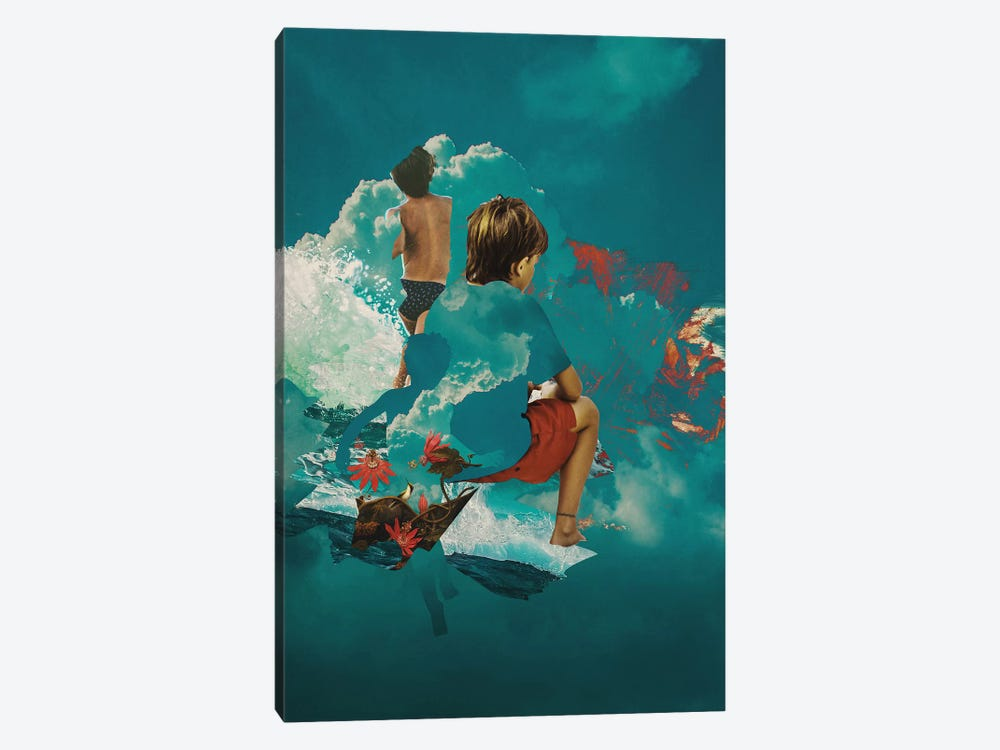 Kidcloud by Fran Rodriguez 1-piece Canvas Artwork